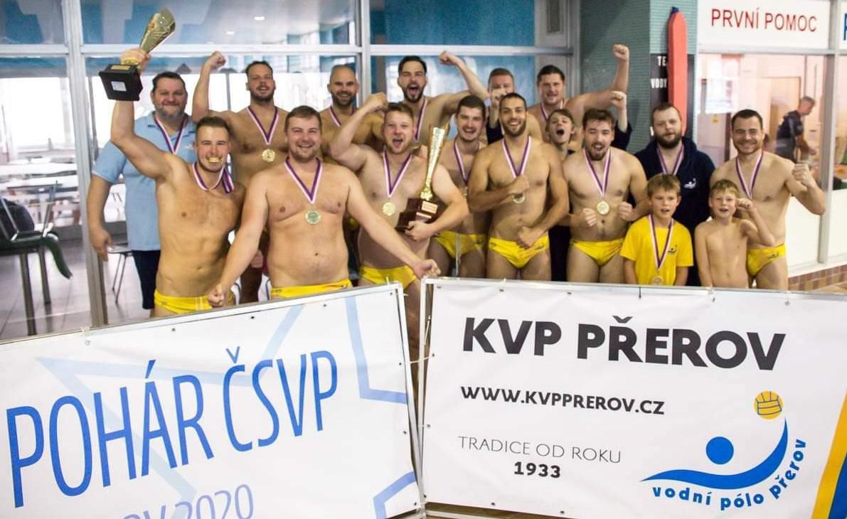 Napsali o nás: Hráči KVP jsou zpět v bazénu
